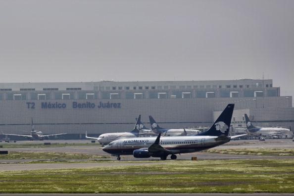 Aeropuerto Internacional de la Ciudad de México. (Getty Images, archivo)