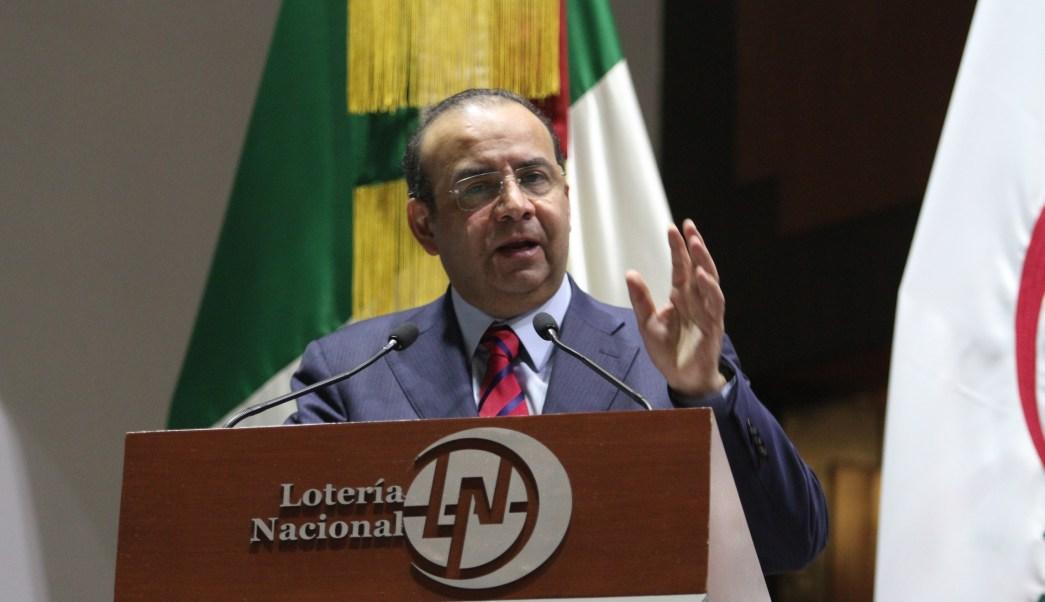 Alfonso Navarrete Prida, secretario del Trabajo y Previsión Social. (Notimex)