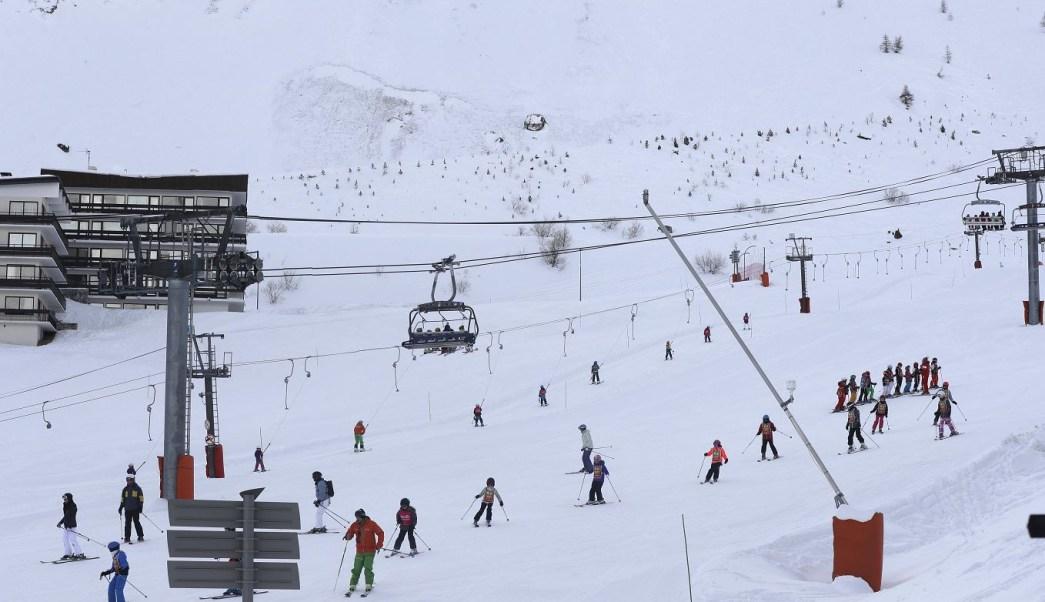 El incidente se produjo en la estación de Tignes, en los Alpes franceses. (AP, archivo)