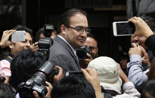 Javier Duarte, exgobernador de Veracruz. (AP, images)