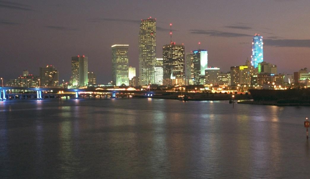 Vista panorámica de Miami (AP, archivo)