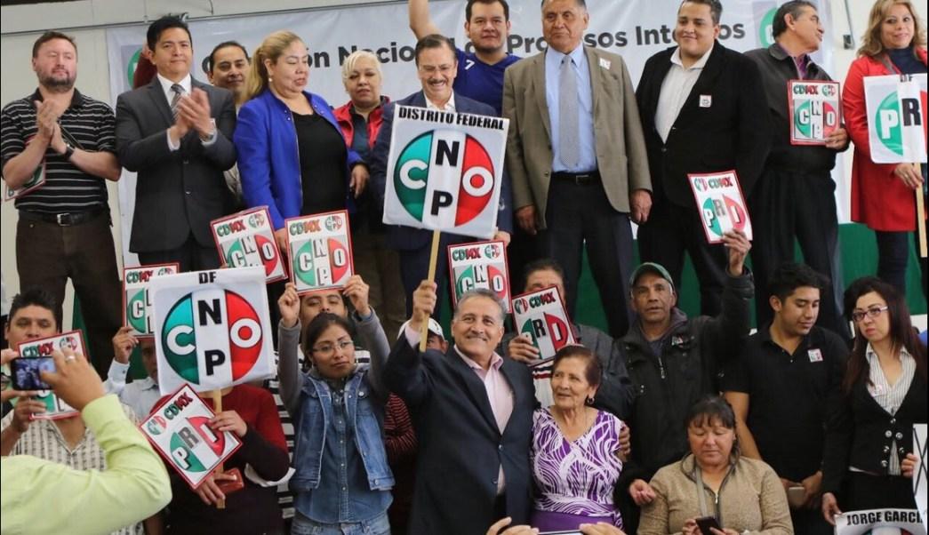 Arturo Zamora se registró para ocupar la Secretaría General de la CNOP.