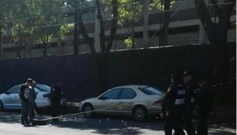 Una balacera se reportó esta tarde afuera de la Escuela Nacional Preparatoria No. 5 José Vasconcelos de la UNAM, ubicada en Calzada del Hueso 729. (Centro Regulador de Urgencias y Emergencias CRUE)
