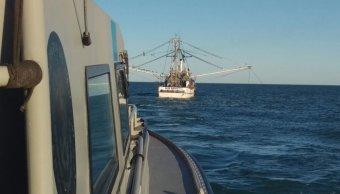 Asegura Profepa 3 embarcaciones mayores por pesca ilegal. (Profepa)