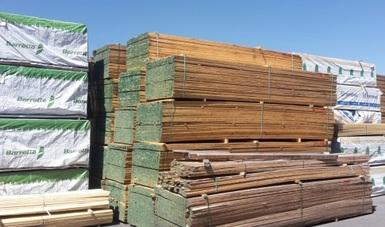 Aseguran más de 3 mil metros cúbicos de madera aserrada en Querétaro. (Profepa)
