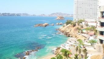 Bahía de Acapulco, Guerrero. (Twitter @ZonaturAcapulco)