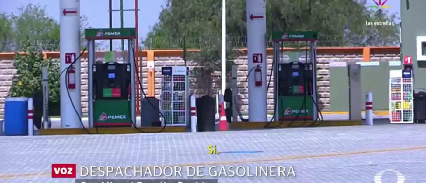 Baja venta de gasolina en Puebla