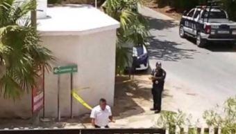 Según los primeros informes, se trató de un intercambio de disparos entre dos autos, lejos de la zona urbana del municipio (Noticieros Televisa)