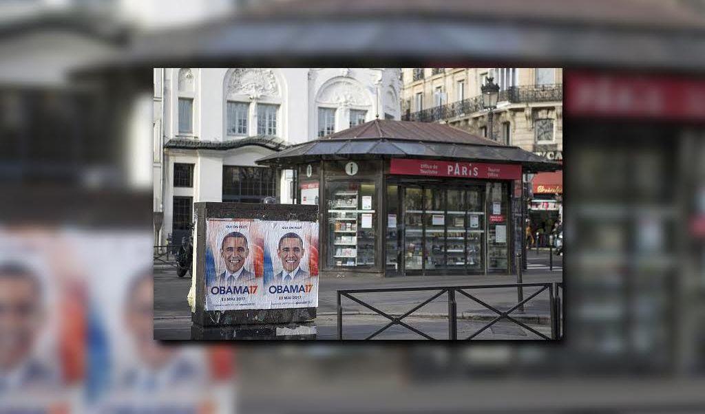 A través de una campaña piden a Barack Obama sumarse a la contienda presidencial en Francia. (Getty images)