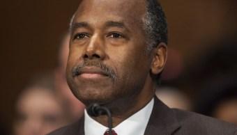 Ben Carson, secretario de Vivienda en el gobierno de Donald Trump (AP, archivo)