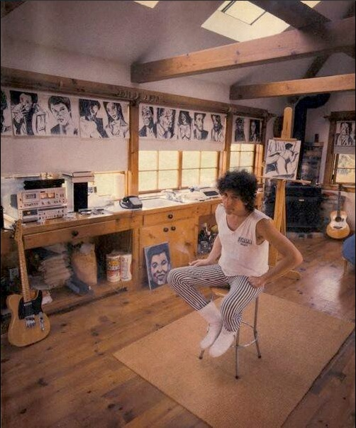 Área de trabajo de Bob Dylan (Twitter @quotesbobdylan)