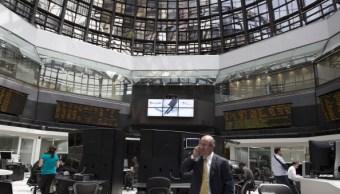 Piso de operaciones de la Bolsa Mexicana de Valores. (Getty Images)
