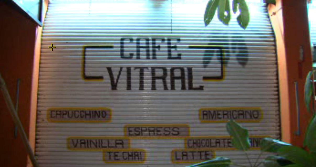 Cafetería donde hieren a mujer en la CDMX. (Noticieros Televisa)