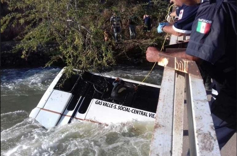 Una mujer de 19 años murió ahogada. (Noticieros Televisa )