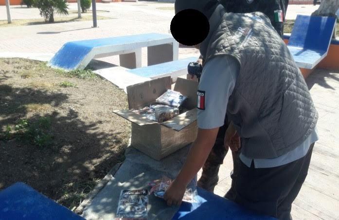 La Agencia de Investigación Criminal decomisa 10 mil 359 piezas de material apócrifo en Campeche. (Noticieros Televisa)