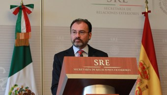 El secretario de Relaciones Exteriores de México, Luis Videgaray. (Archivo/Notimex)