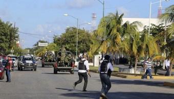 Movilización tras ataques del 17 de enero, en Cancún, Quintana Roo. (AP, archivo)