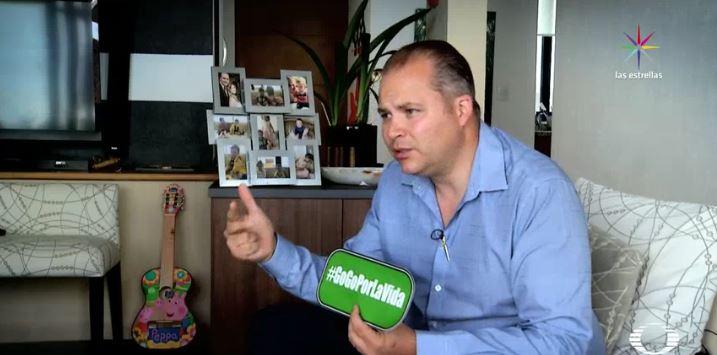 José Antonio Tame crea la Fundación 'Gogo por la vida' que busca prevenir accidentes, así como dar cursos de primeros auxilios. (Noticieros Televisa)