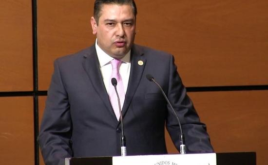 Carlos Gerardo Hermosillo Arteaga, diputado federal de Chihuahua. (Noticieros Televisa)