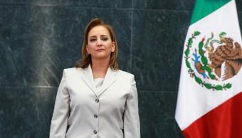 Claudia Ruiz Massieu , nueva secretaria de Organización del CEN del PRI.