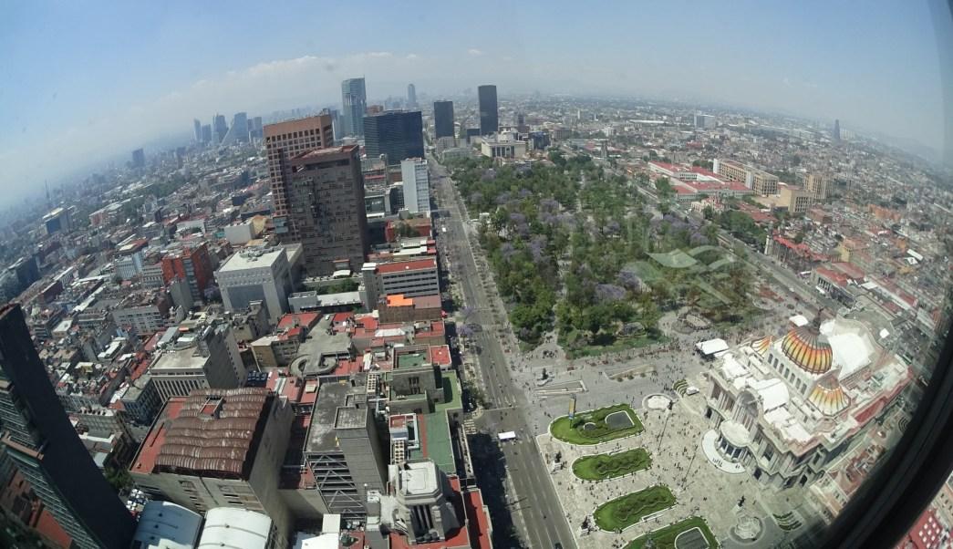 Panorámica de la Ciudad de México. (Archivo/Notimex)