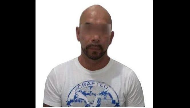 El detenido cambió su nombre por el de Alexander Rey Marín Cardona para evadir a las autoridades. (Twitter @PoliciaFedMx)