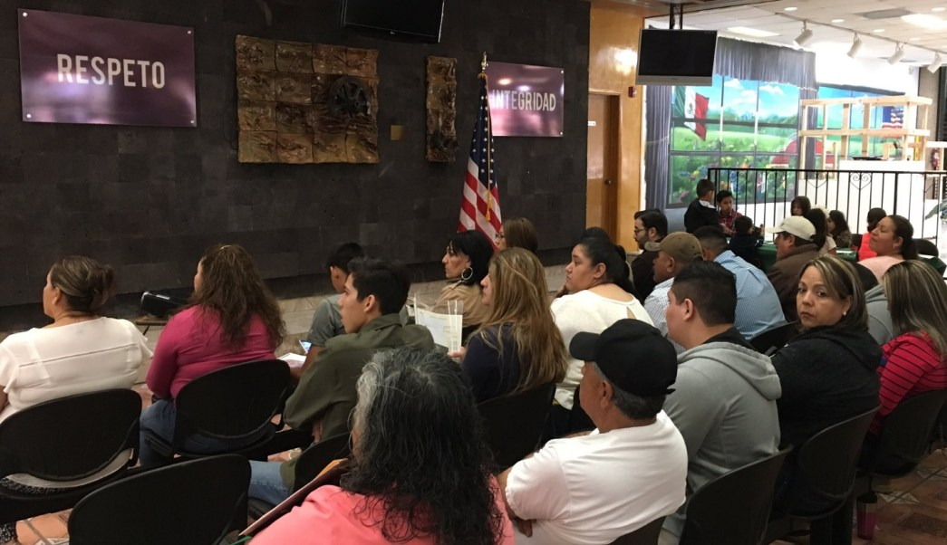 Consulado General de México en El Paso, Texas. (Twitter: @ConsulmexElPaso)