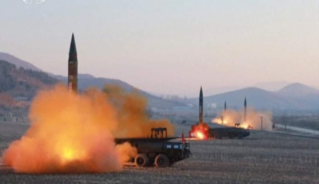 Corea del Norte aseguró que el objetivo de sus misiles eran las bases de Estados Unidos en Japón.