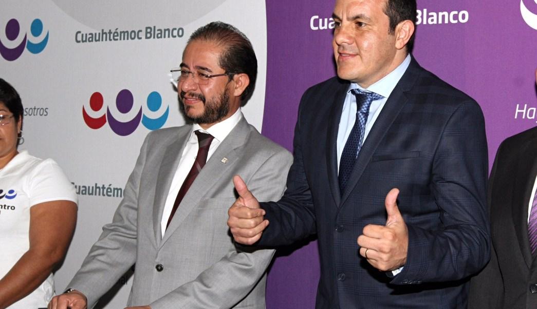 El presidente municipal de Cuernavaca, Morelos, Cuauhtémoc Blanco Bravo, se afilió al partido Encuentro Social (Notimex)