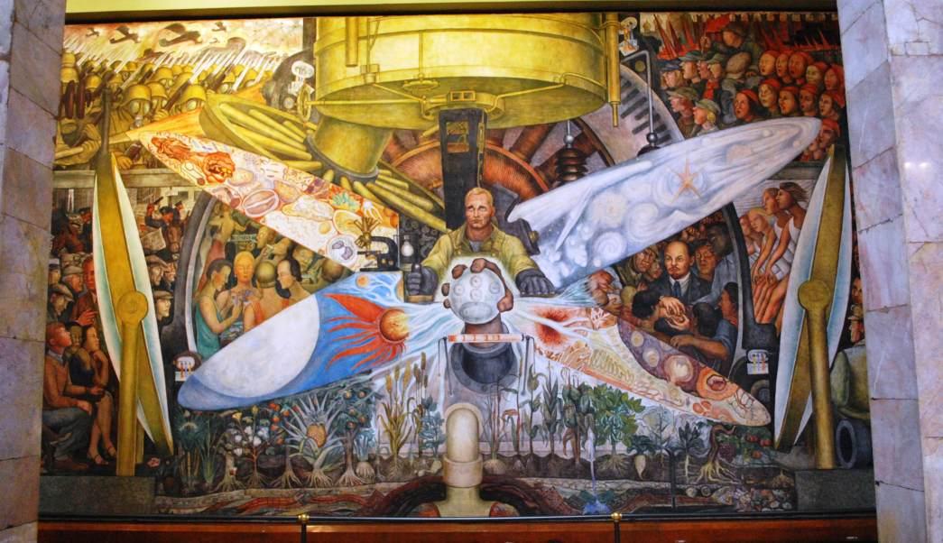 Resultado de imagen para mural diego rivera rockefeller