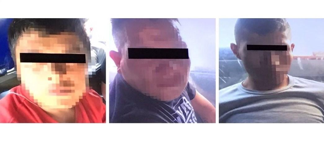 Policías de la Ciudad de México detienen 3 presuntos delincuentes por robo a conductores en calles de la delegación Álvaro Obregón. (SSP-CDMX)