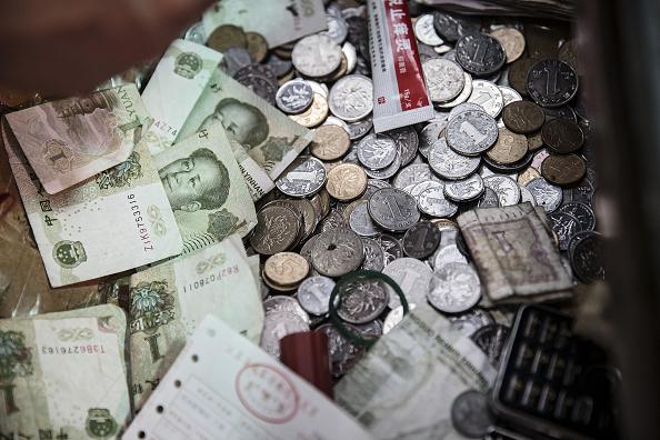 Las ventas netas de divisas realizadas por el Banco Popular de China ascendieron a 58,100 millones de yuanes . (Getty Images)