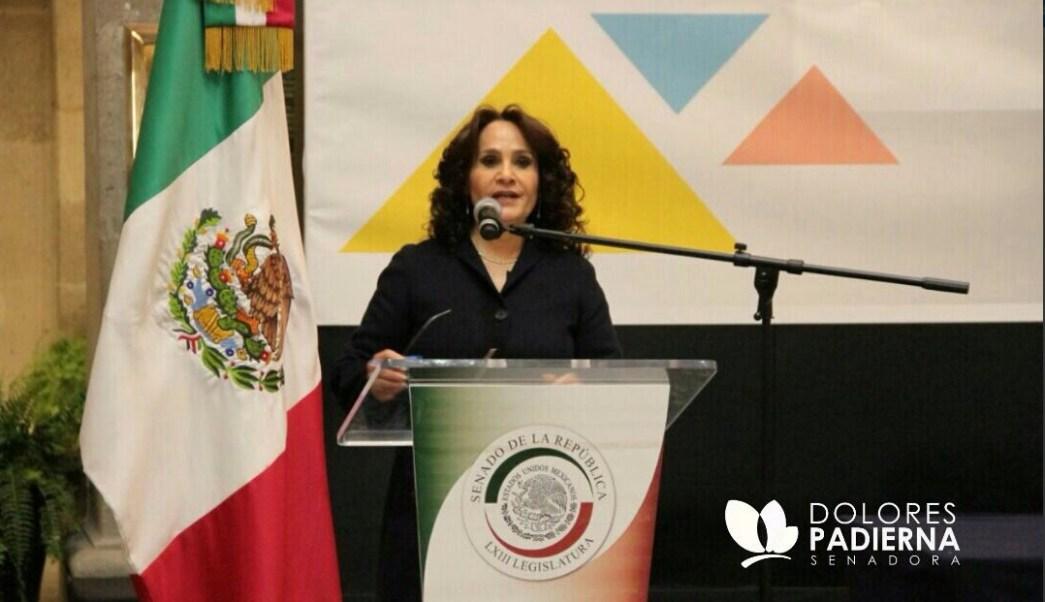 Dolores Padierna fue entrevistada en el marco del IV Encuentro de Dirigentes y Representantes Internacionales de Izquierda. (Twitter @Dolores_PL)