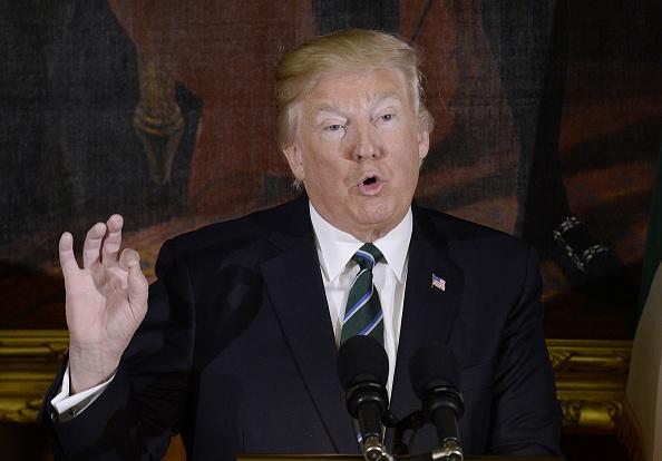 Donald Trump, presidente de Estados Unidos, arremete contra Corea del Norte y China (Getty Images)