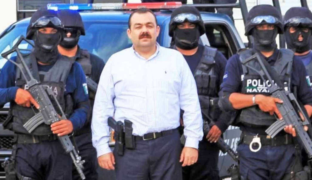 Édgar Veytia Cambero, exfiscal general de Nayarit. (Twitter: @frarivasCoL/Archivo)
