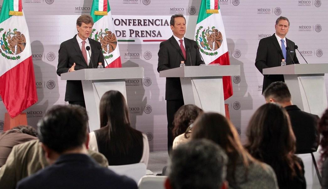 El secretario de Turismo, Enrique de la Madrid, y Eduardo Sánchez, vocero del gobierno de la República, informaron sobre la derrama económica e impacto turístico que generó la edición 2016 del Gran Premio de México Fórmula 1.