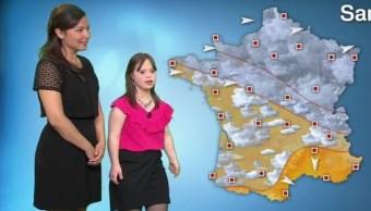 El sueño de Mélanie Ségard era presentar el pronóstico del tiempo.