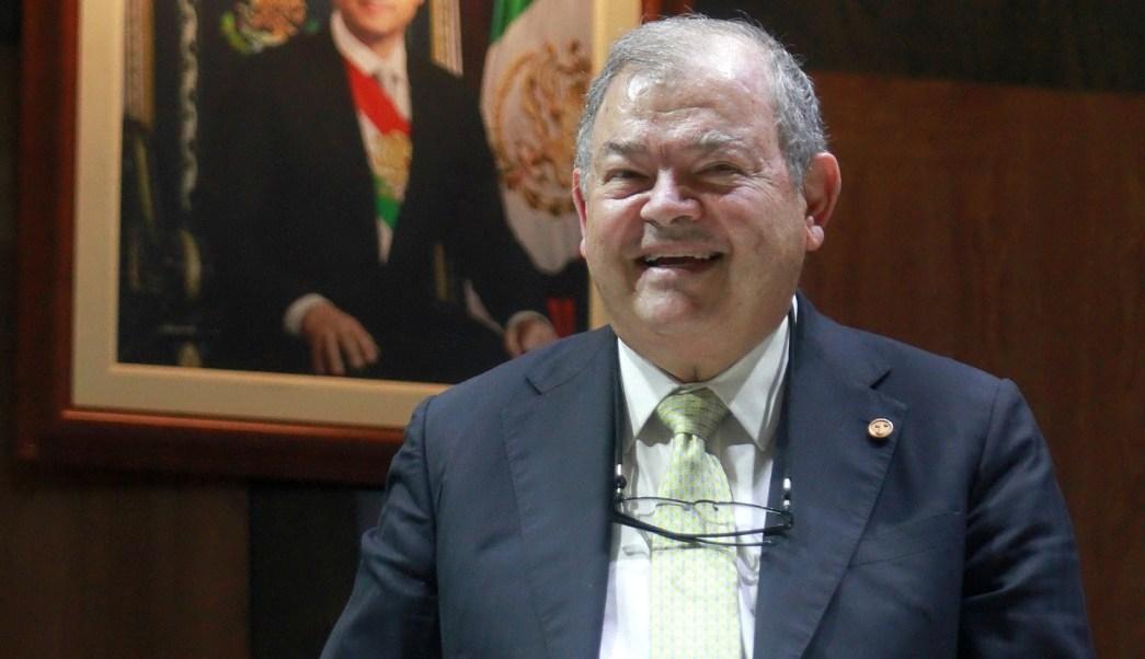 Edgar Elías Azar, expresidente del TSJ de la CDMX, fue postulado como embajador de México en Países Bajos. (NTX, archivo)