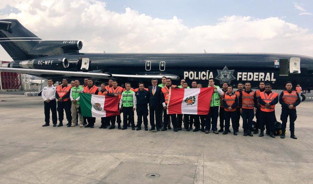 México envía ayuda humanitaria a Perú para asistir a población afectada por El Niño. (Twitter/@gobmx)