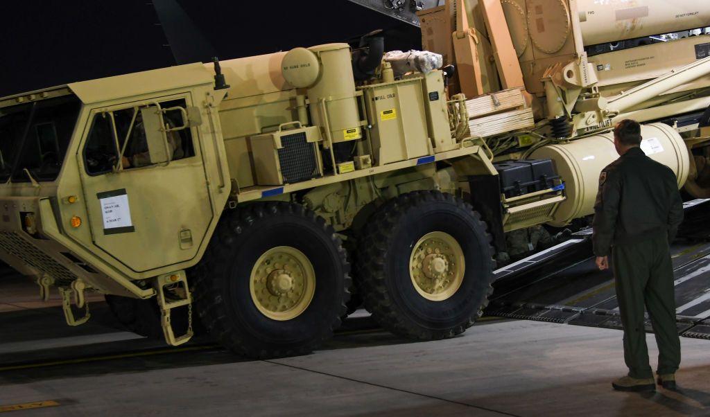 Estados Unidos desplegó el sistema antimisiles Thaad en Corea del Sur.