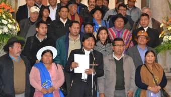 Evo Morales convoca a la Conferencia Mundial de los Pueblos. (Twitter @evoespueblo)