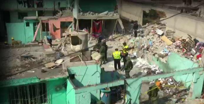 Explosión de pirotecnia en Tultepec, Estado de México, afectó varias viviendas (Noticieros Televisa)