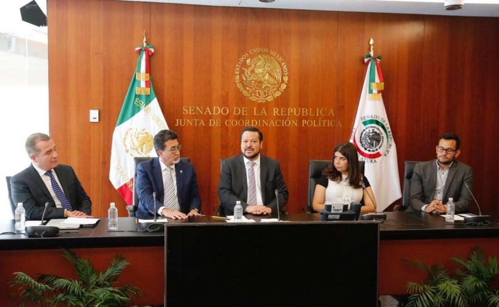 Fernando Herrera, presidente de la Junta de Coordinación Política. (Twitter: @FHerreraAvila)