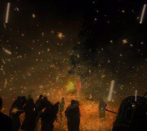 Celebran en Tultepec al patrono de la pirotecnia
