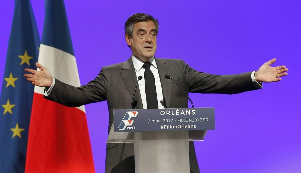 François Fillon, candidato conservador en las elecciones presidenciales de Francia. (AP)