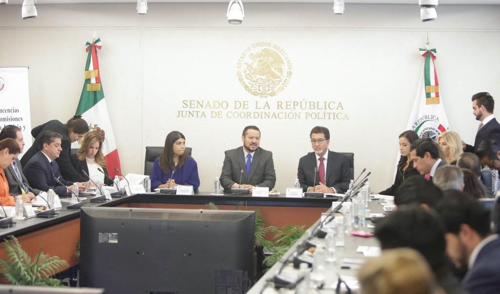 Inician tres días de comparecencias en el Senado para designar al nuevo fiscal Anticorrupción. (Twitter: @senadomexicano)