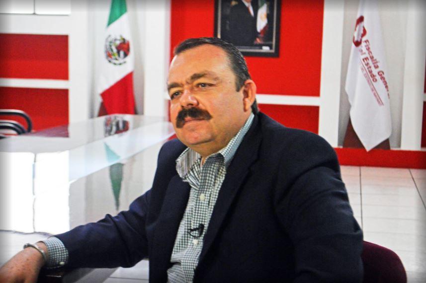 Edgar Veytia Cambero, fiscal general de Nayarit, fue detenido en la frontera con EU. (Twitter/@FiscaliaNayarit)