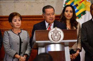 Flavino Ríos, exgobernador interino de Veracruz. (Twitter @GobiernoVer)