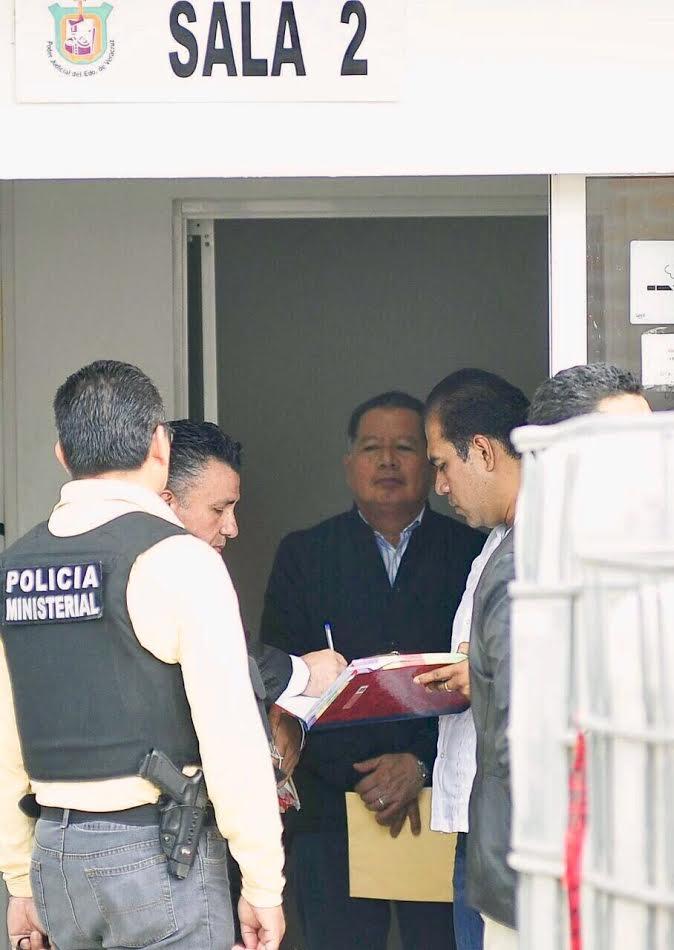 Flavino Ríos Alvarado fue trasladado a las instalaciones de la Policía Ministerial (Especial)