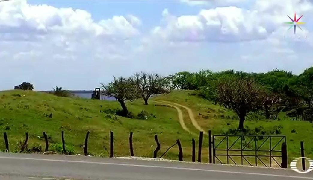 La nueva fosa se ubica en la comunidad El Arbolillo, en Alvarado, Veracruz. (Noticieros Televisa)